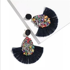 Fashion Jewelry Jewelry - 🌹✅Ethnic Bohemian Round Tassel Earrings.